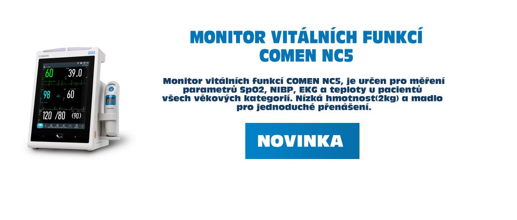 Monitor vitálních funkcí COMEN NC5 - KLIKNĚTE PRO VÍCE INFORMACÍ